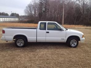 1997 S10 Pickup Extended Cab