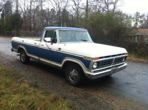 1977 Ford F150 xlt Ranger long bed